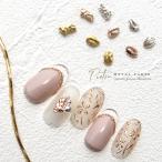 【10個入】メタルパーツ Pietra-ピエトラ- 9種 ゴールド/ピンクゴールド/シルバー ネイルパーツ