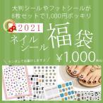 【メール便OK】 【1/4〜順次発送】2021 新春 シール盛りだくさん ネイルシール福袋