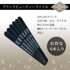 エメリーボード ネイルファイル Bio Sculpture Gel バイオスカルプチュアジェル ブラックビューティーファイル(200-220G)