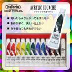 ネイルアート アクリル絵の具 holbein アクリラガッシュ スクールセット 12色