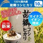【送料無料】【精米】【28年産】100%国内産 故郷コシヒカリ 10kg