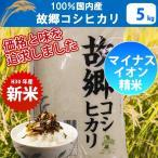 【送料無料】【精米】【28年産】100%国内産 故郷コシヒカリ 5kg