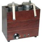 ■業務用酒燗器電気式燗どうこ かんすけ TKD-2型(2合錫チロリ2個付き)
