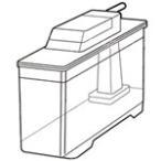 シャープ 冷蔵庫用給水タンク 2014210106