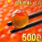 いくら 醤油漬け 岩手県産 国産大粒 鮭卵 イクラ 500g(岩手産 グルメ 鮭卵 さけ ギフト) グルメ ootubu