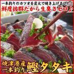 (カツオ 鰹)一本釣り カツオ タタキ 2節 約850g 送料無料♪(焼津港 かつお 鰹タタキ ギフト)