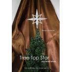 クリスマス オーナメント ツリートップスター(ミニソリッドシルバー) 飾り 装飾 CHRISTMAS X'mas Xmas ornament