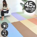 カーペット 四畳半 4畳半 防ダニカーペット 江戸間 4.5帖 絨毯 ペンタコン
