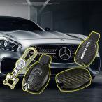 benz メルセデスベンツ AMG スマートキーカバー 高級 リアルカーボン スマートキーケース 純正適合 保護カバー キーレスカバー キーケース リモコン 電子キー