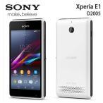 【新品 未使用】 SONY Xperia E1 D2005 ホワイト 【ソニー】【スマホ】【海外携帯】【白ロム】【SIMフリー】携帯電話 【当社90日保証】