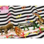kokka 生地 candy party(キャンディパーティー)Happy Animals(ハッピーアニマルズ) オックス生地