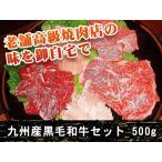 雅虎商城 - おすすめ 九州産黒毛和牛セット(500g)