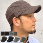 雅虎商城 - clef (クレ) ワッフル リブ スウェット ワークキャップ 帽子 大きいサイズ キャップ