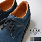 REPLANT(リプラント)『OIl suede Postman Shoes』
