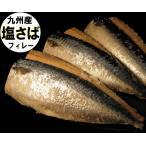 塩さば 片身1枚入真空パック 九州産 甘塩寒サバ 玄界灘で寒獲れの真鯖の三枚下し、甘塩フィーレ加工の塩サバです。業務用 真空パック
