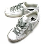 ゴールデングース GOLDEN GOOSE 【SNEAKERS SUPERSTAR】 レディース ローカット スニーカー WHITE SILVER CREAM SOLE GCOWS590 W7