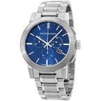 バーバリー BURBERRY 腕時計 ウォッチ ステンレス シティ クロノグラフ ブルー/シルバー BU9363