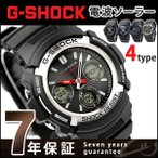 ポイント最大6倍 G-SHOCK Gショック 電波ソーラー AWG-M100 電波 ソーラー アナデジ 腕時計 ブラック