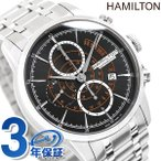 ポイント最大12倍 ハミルトン レイルロード オート クロノグラフ メンズ H40656131 腕時計