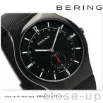 ベーリング カービング メッシュ 40mm クオーツ メンズ 11940-222 BERING 腕時計