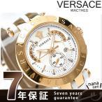 ヴェルサーチ Vレース クロノグラフ 42MM メンズ 腕時計 23C80D002S001 VERSACE