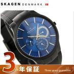 スカーゲン 腕時計 メンズ Performance Driven マルチファンクション チタン ブルー 809XLTBN