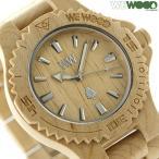 ウィーウッド デイト クオーツ 木製 腕時計 9818025