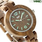 ウィーウッド ミモザ クオーツ 木製 レディース 腕時