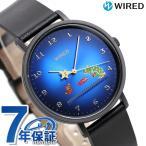 14日から全品ポイント+4倍 セイコー スーパーマリオブラザーズ 限定モデル メンズ 腕時計 AGAK706 SEIKO ワイアード ブルー×ブラック