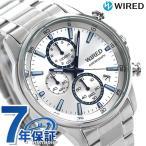 14日から全品ポイント+4倍 セイコー ワイアード メンズ 腕時計 クロノグラフ AGAT425 SEIKO WIRED NEW STANDARD シルバー
