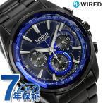 先着1,000円割引クーポン セイコー ワイアード SEIKO WIRED クロノグラフ メンズ 腕時計 AGAV102 リフレクション ブルー 時計