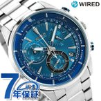 SEIKO WIRED THE BLUE BLUE WIND 腕時計 アナログ AGAW442