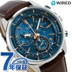 セイコー ワイアード ザ・ブルー クロノグラフ メンズ 腕時計 AGAW447
