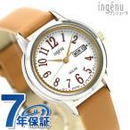 セイコー 腕時計 レディース SEIKO ソーラー カレンダー AHJD109 アルバ アンジェーヌ 革ベルト 時計