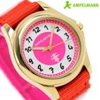 20日からエントリーで最大19倍 アンペルマン キッズ 子供用 腕時計 クオーツ AMA-2035-22
