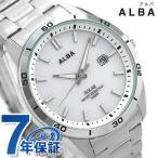 セイコー 腕時計 メンズ SEIKO スポーティ ソーラー ホワイト AQGD402 アルバ 時計