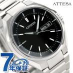 シチズン アテッサ 電波ソーラー メンズ 腕時計 AT6050-54E CITIZEN