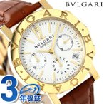 BVLGARI BVLGARI 38MM 腕時計 アナログ BB38WGLDCH