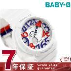 ショッピングbaby Baby-G ホワイト トリコロール シリーズ レディース 腕時計 BGA-130TR-7BDR