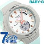 Baby-G ベビーG ジースクワッド レディース 腕時計 Bluetooth BSA-B100MC-8ADR CASIO カシオ ライトグレー×ミントグリーン