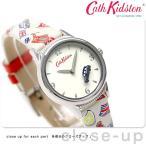 ショッピングキャスキッドソン 19日からエントリーで最大26倍 キャスキッドソン Cath Kidston ロンドンスタンプ レディース 腕時計 CKL011WW