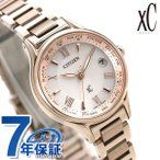 シチズン クロスシー エコドライブ電波時計 チタン レディース 腕時計 サクラピンク(R) EC1164-53W CITIZEN xC 時計