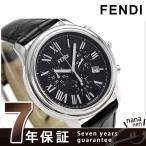 フェンディ クラシコ 42mm クロノグラフ スイス製 メンズ F253011011 腕時計 新品