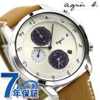 アニエスベー マルチェロ ソーラー クロノグラフ FBRD973 腕時計