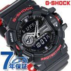 G-SHOCK ブラック&レッド クオーツ メンズ 腕時計 GA-400HR-1ADR カシオ Gショック