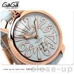 GaGa MILANO MANUALE 48MM 18K PVD 腕時計 GA5011-03S