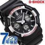 ショッピングg-shock ブラック 22日までエントリーで最大21倍 G-SHOCK ベーシック 電波ソーラー メンズ 腕時計 GAW-100-1AER Gショック ブラック
