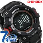 G-SHOCK Gショック メンズ 腕時計 ジースクワッド GBD-100-1DR CASIO カシオ 時計 オールブラック×レッド