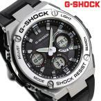 9日はさらに+10倍でポイント最大20倍 G-SHOCK Gスチール ソーラー メンズ 腕時計 GST-S110-1ADR Gショック