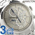 22日までエントリーで最大19倍 ハミルトン レイルロード オート クロノグラフ メンズ H40656181 腕時計
